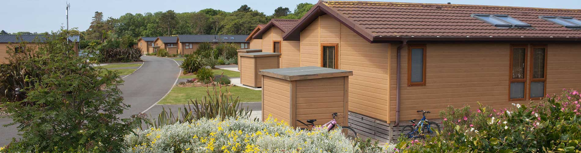 Luxury Lodges at Home Farm Anglesey
